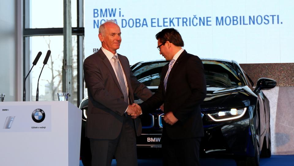 Mermal (p)odprl dobo BMW i električne mobilnosti pri nas