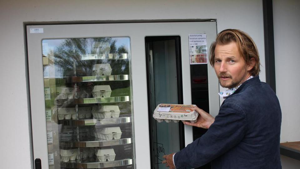 Diverzifikacija: Prodaja domačih jajc cveti