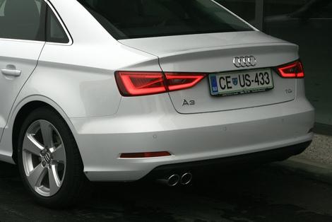 Audi A3 z najbolj seksi ritko