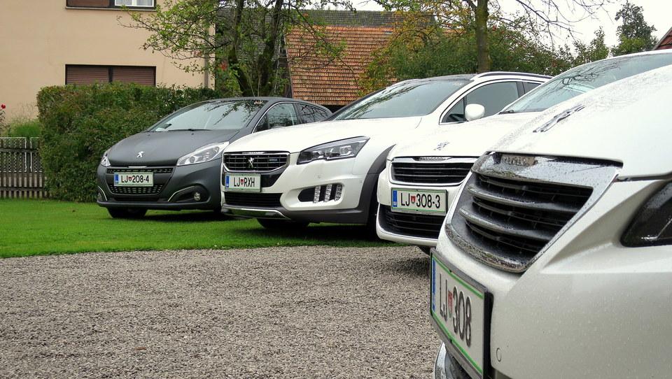 Z avtomatiko v Peugeotih po sledeh razbijalcev mitov