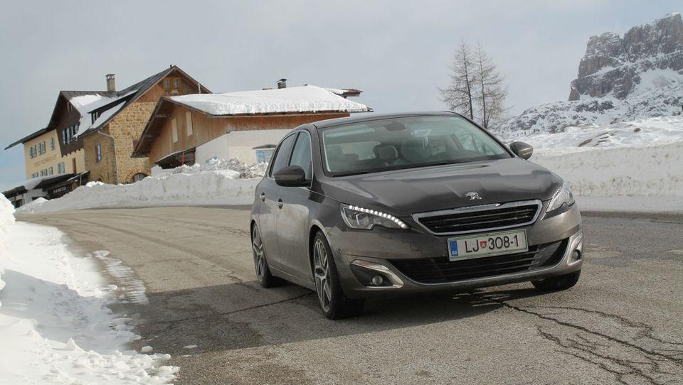 Peugeot 308 je evropski avto leta