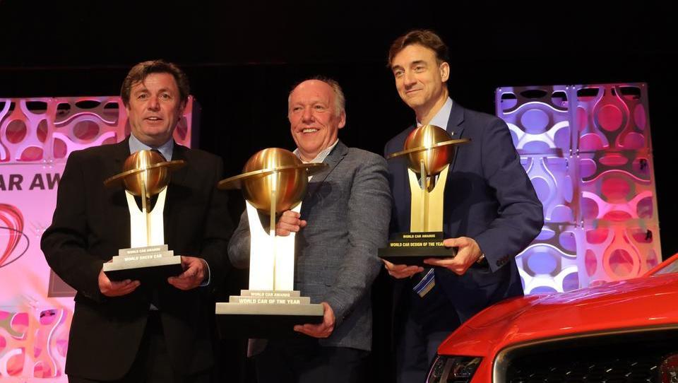 Svetovni avto leta 2019: velika zmaga jaguarja I-pacea, kipci še audiju A7, mclarnu 720S in suzukiju jimnyju
