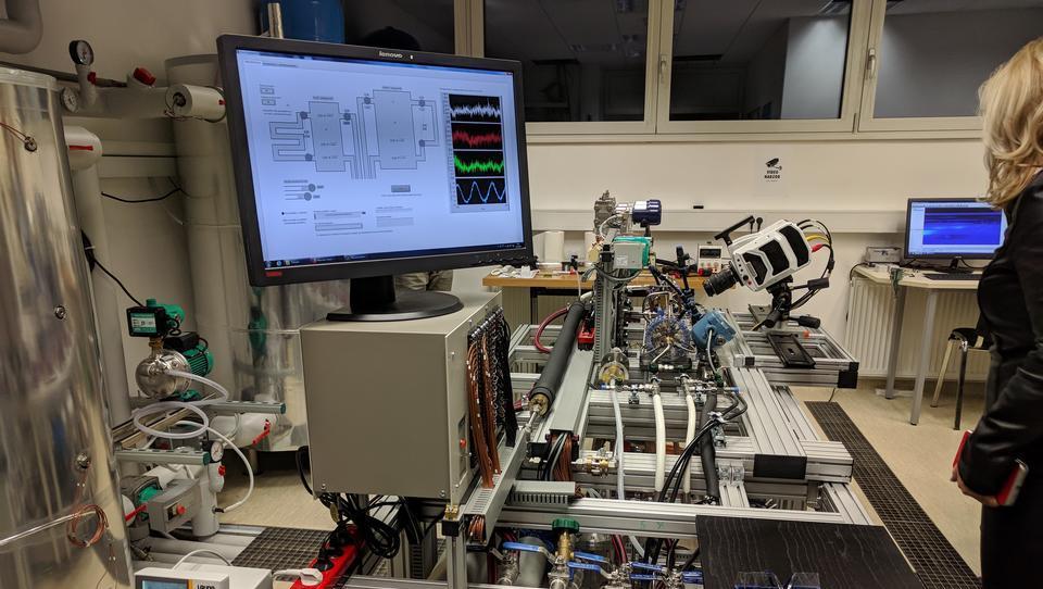Takšen je nov laboratorij slovenske jedrske znanosti