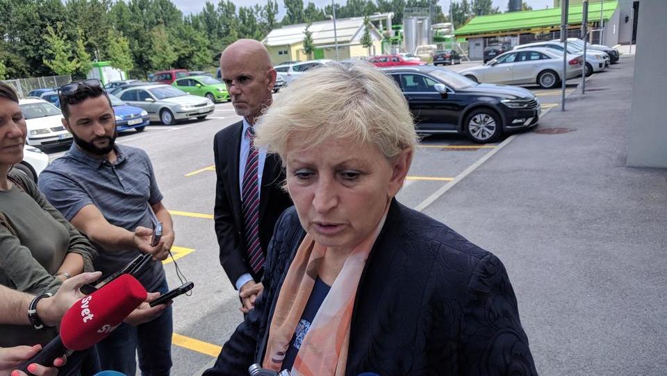 (video) 'Ministrica Majcnova je zlonamerna in nam dela škodo'