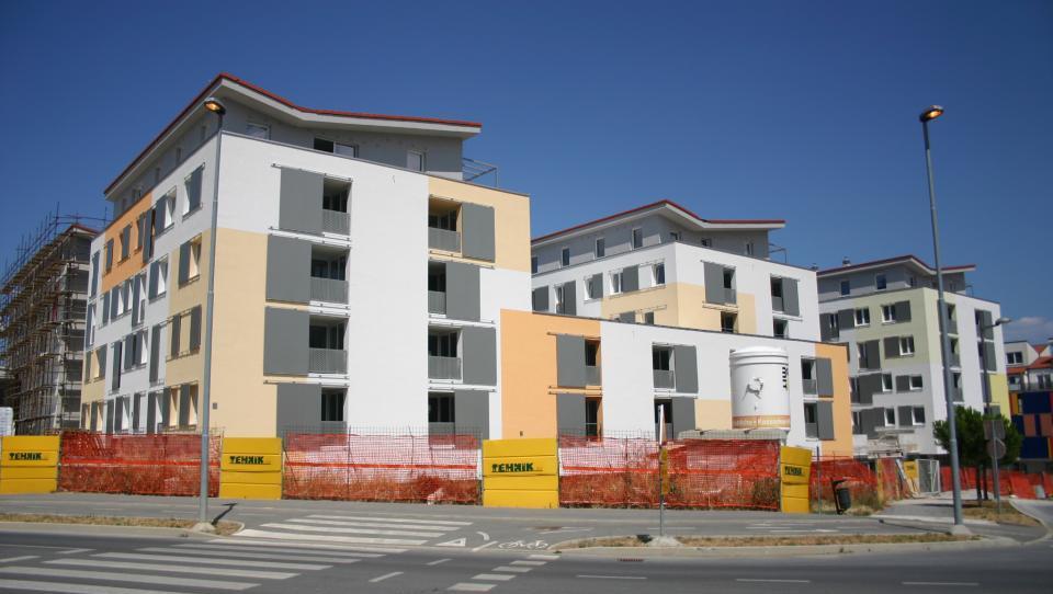 Naprodaj nedokončana stanovanja v Izoli