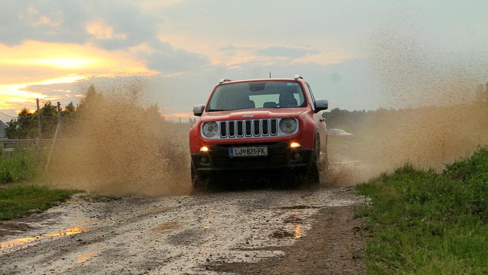 Jeep z Renegadom do rekordne prodaje