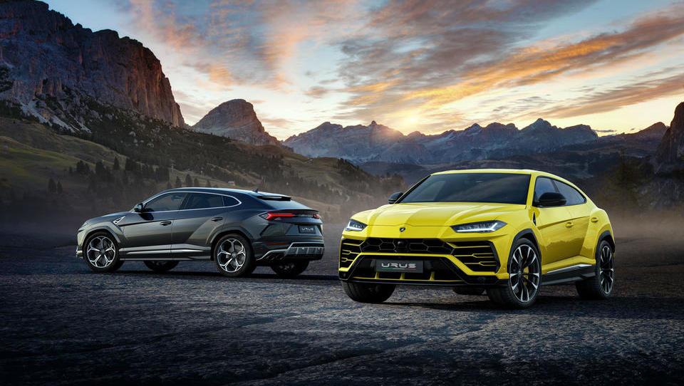 Podivjani SUV poskrbel za strmo rast Lamborghinija