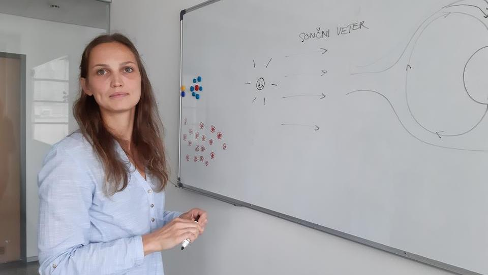 Slovenka, ki v Parizu raziskuje sončni veter in sodeluje z agencijo NASA