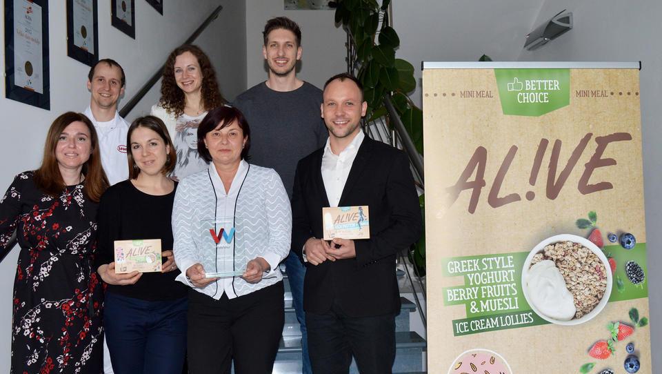 Slovenci s priznanjem za najbolj inovativen sladoled na svetu