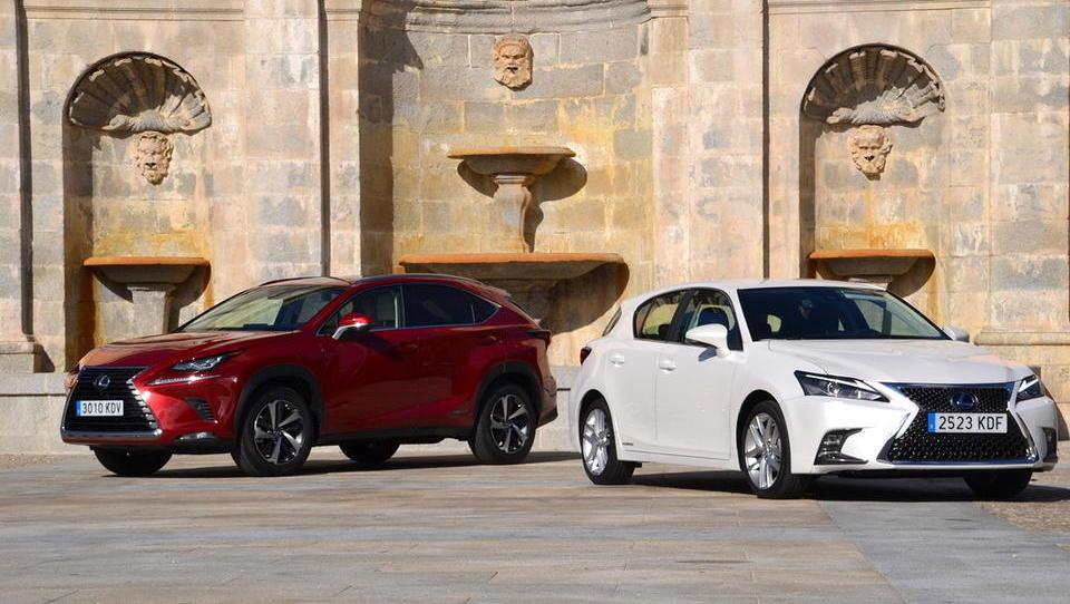 Pomlajena Lexusa tudi s ceno nad nemce