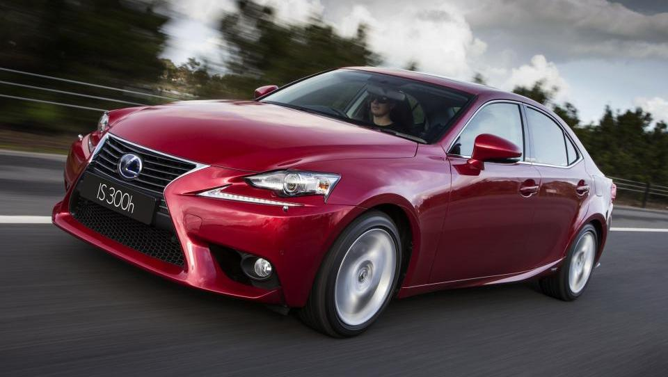 Finalist PAL 2014: Lexus IS 300h