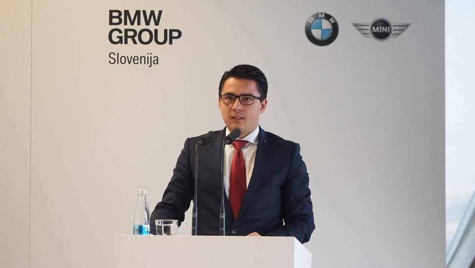 Slovo šefa slovenskega BMW z visokimi indeksi