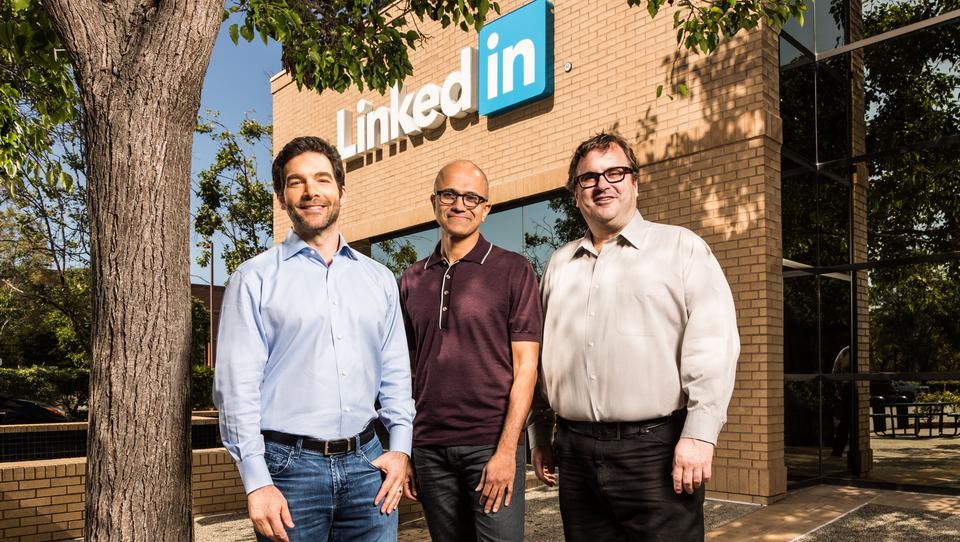 Microsoftov največji posel doslej: za 26 milijard dolarjev so kupili LinkedIn