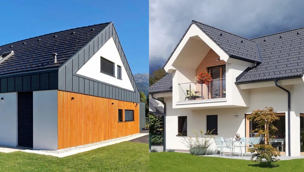 Marles bo predstavil dve hiši s pogledom na Triglav