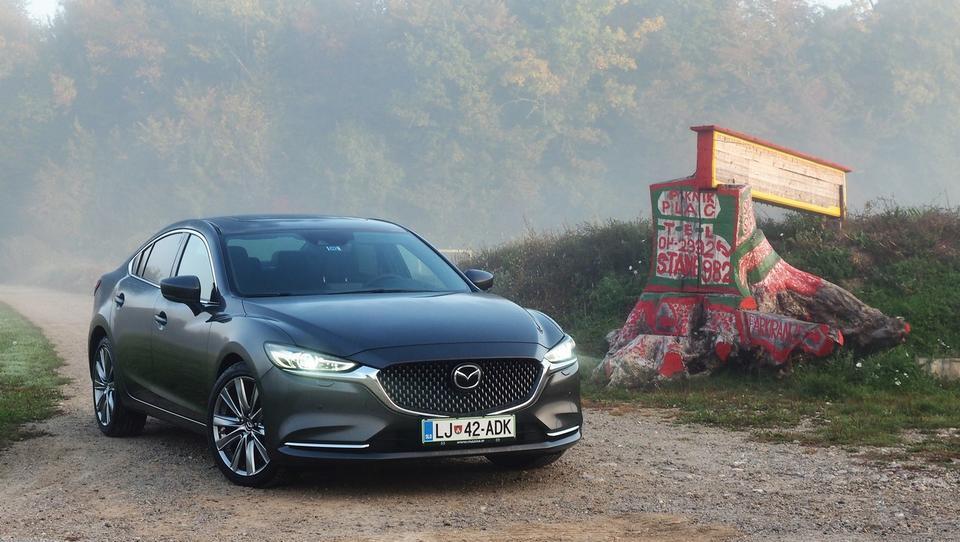 Mazda6: šestletna bitka s poslovnimi kupci