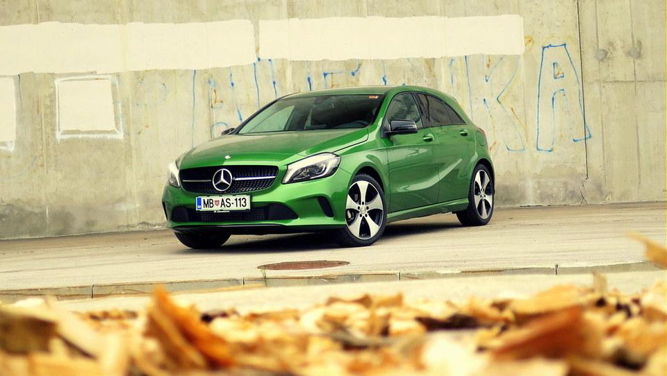 Prenovljeni Mercedes A z utripom nove generacije