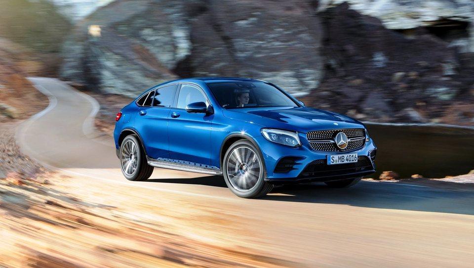 Robert Lešnik Američanom razkril Mercedes-Benz GLC kupe