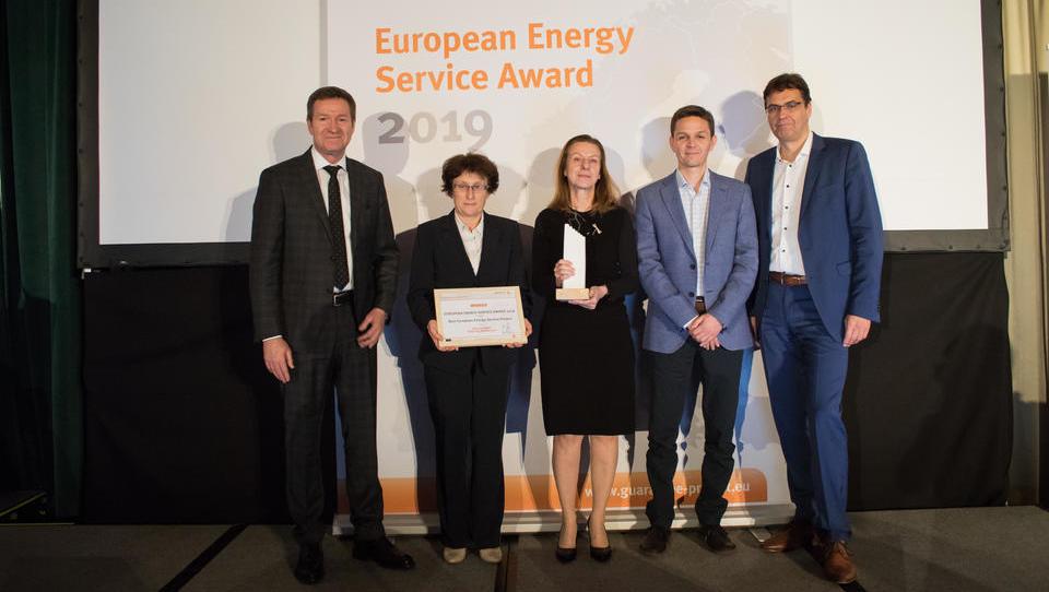 Mednarodna nagrada energetski sanaciji Ljubljane