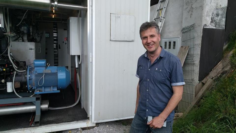 V Sorici so postavili elektrarno, kakršne ni v Evropi