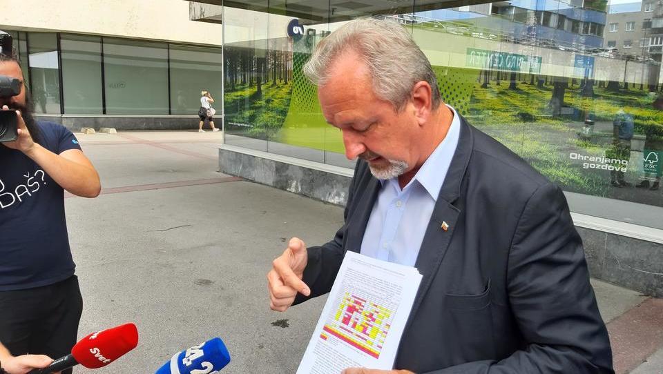 Kaj točno je zapisano v analizi odpadkov v Moravčah