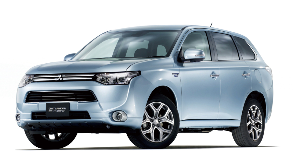 Mitsubishi s pomočjo slabotnega jena in hibrida iz rdečih številk