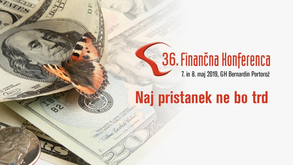 36. Finančna konferenca - spoznajte govorce