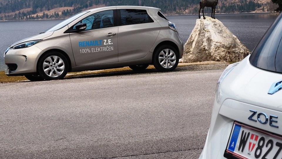 Lani v Evropi prodanih skoraj sto tisoč električnih avtov, trg vodi Renault