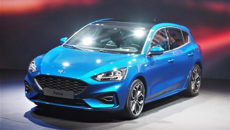 (Z razkritja novega focusa): Fordov enotni odgovor na tekmece in športne terence