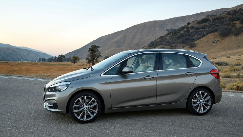 BMW 2 active tourer pri nas od 26.700 evrov