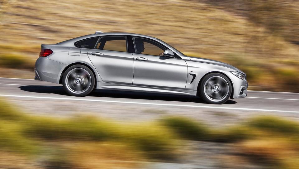 Gran coupe - najbolj postaven BMW 4