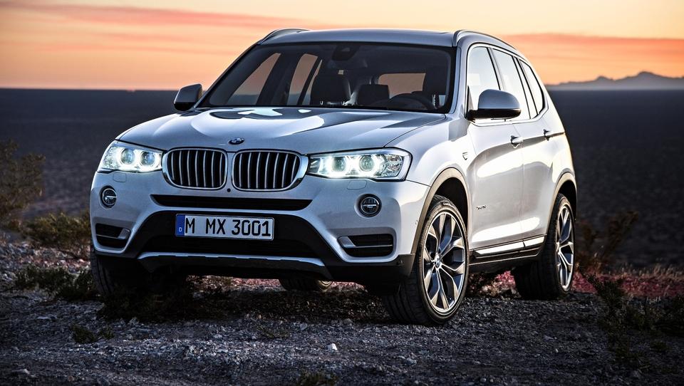 Vroči BMW X3 po sledi večjega brata