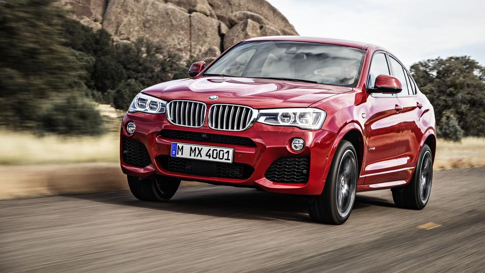 BMW X4 iz spleta lovi pozornost ženevskih luči