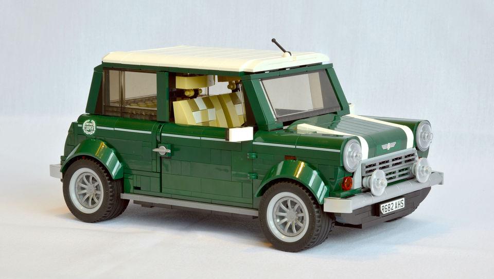 Klasični Mini tudi iz Lego kock