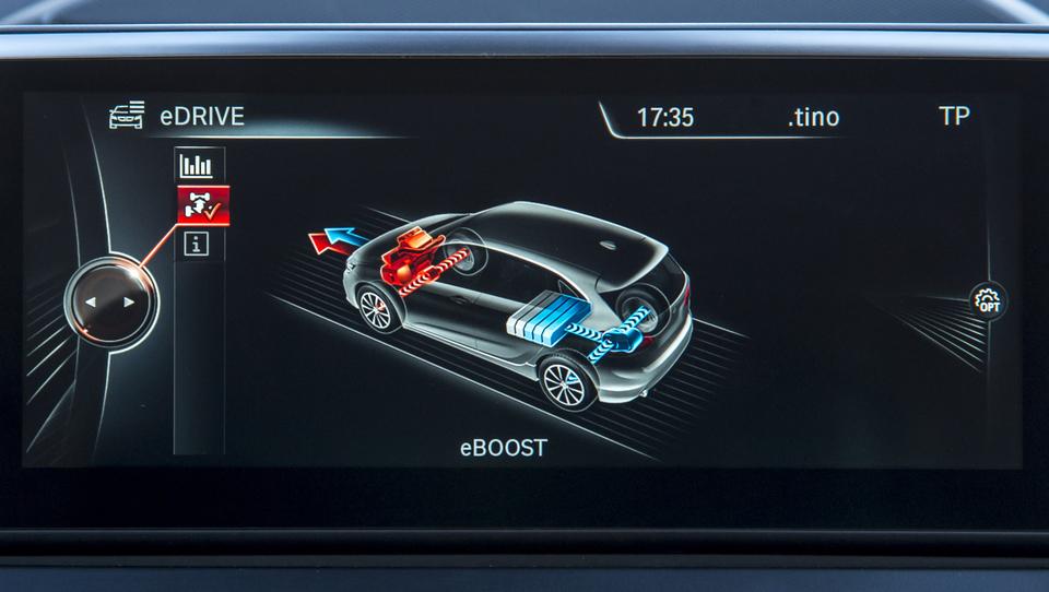 Tehnika superšportnika BMW i8 v enoprostorcu za 40 tisočakov