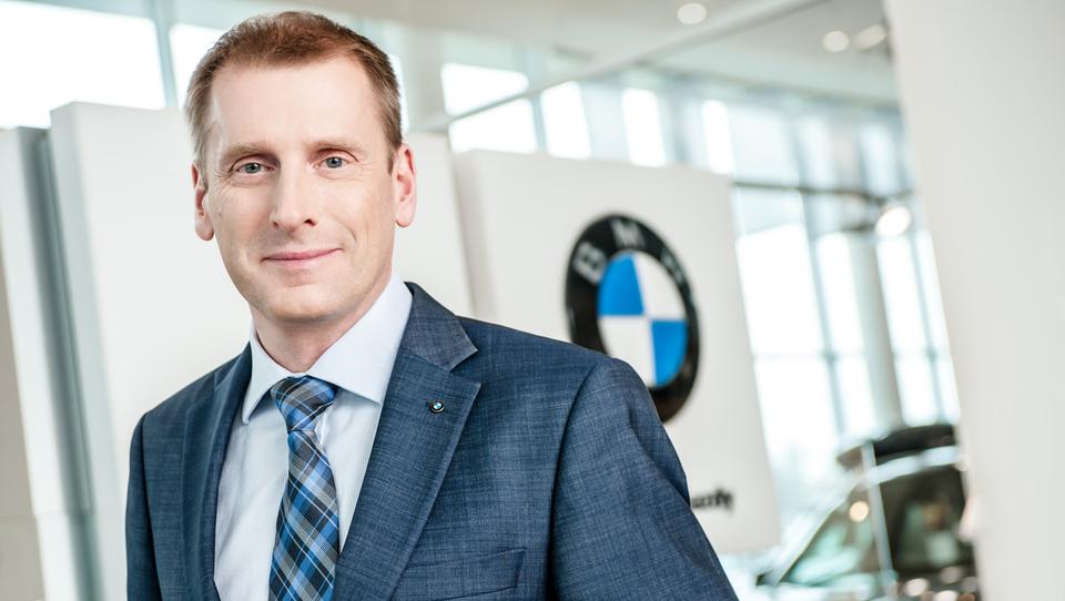 Kdo je novi šef slovenskega BMW