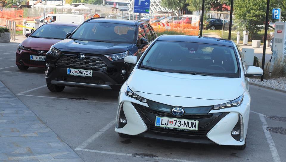 Slovenska Toyota ustvarila lastni car sharing, preizkuša ga v BTC