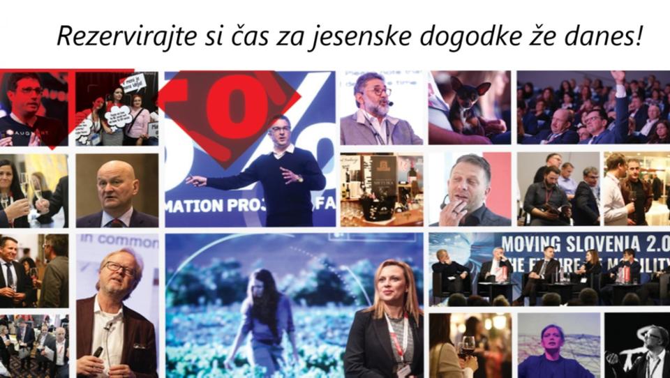 Že veste, kaj na konferenčnem področju prinaša jesen 2019?