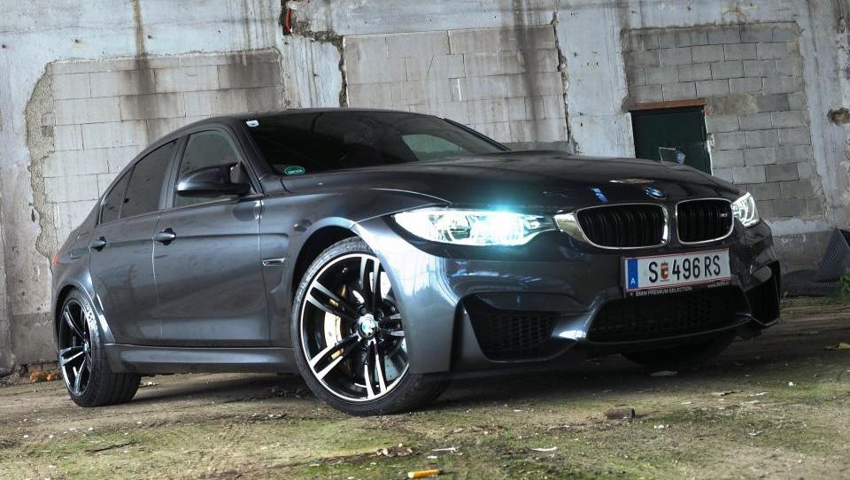 BMW M3: izjemen kos avtomobilske konfekcije