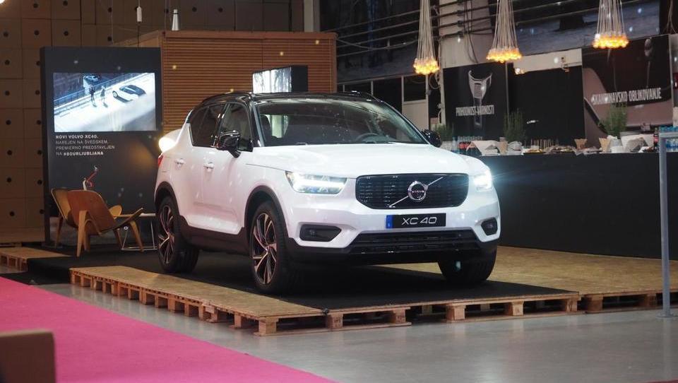 Volvov kompaktni SUV za množice