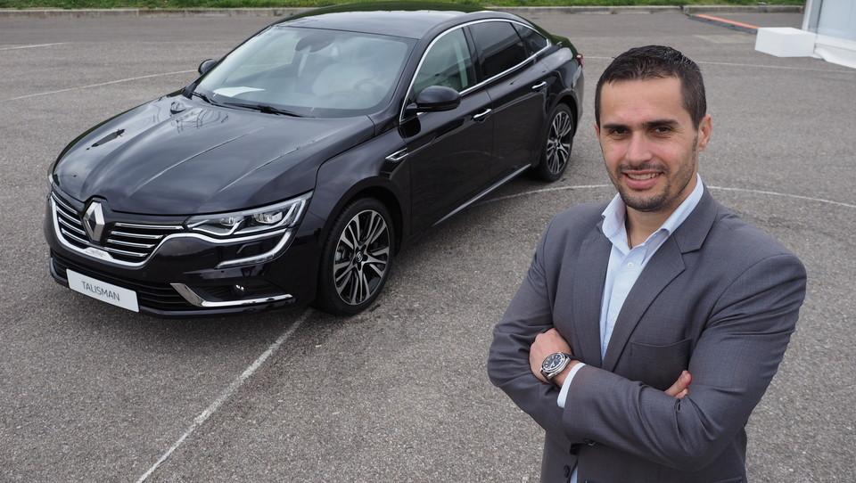 (Intervju) 33-letni Hrvat, ki Renault vrača v izgubljeni poslovni razred