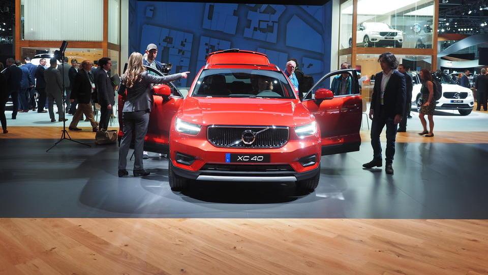 Mali volvo XC40 ''ugrabil'' tudi Slovence, belgijska tovarna že povečuje zmogljivosti