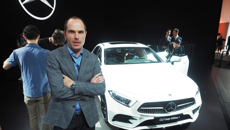 Z Robertom Lešnikom osebno o novem mercedes-benzu CLS