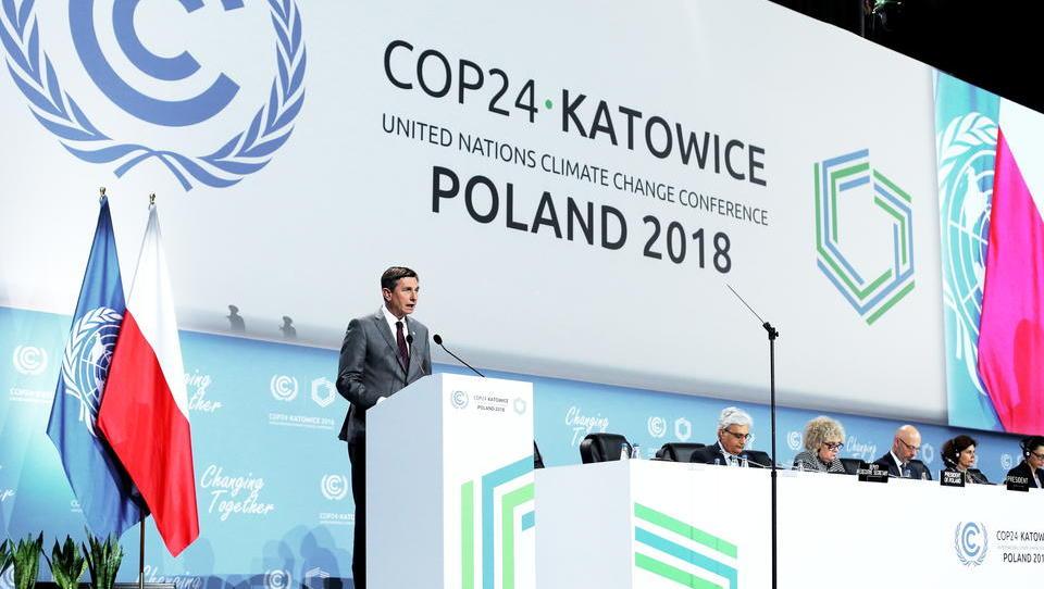 Pahor med 19 predsedniki, ki so podprli ambiciozno podnebno ukrepanje