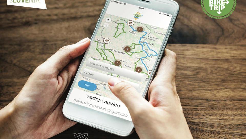 Aplikacija za kolesarje povezuje turistično ponudbo Panonske nižine
