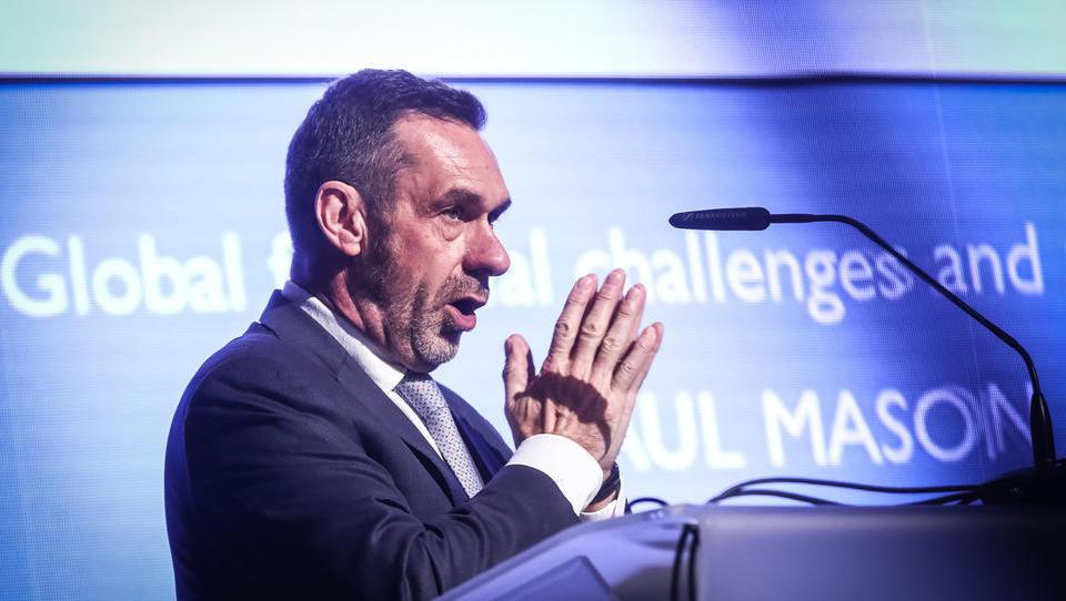 (Iz Portoroža) Paul Mason: Globalni sistem ima težave