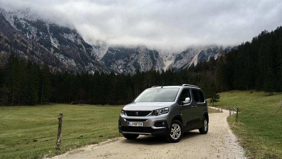 Peugeotov mladenič za zahtevne družinske pustolovščine