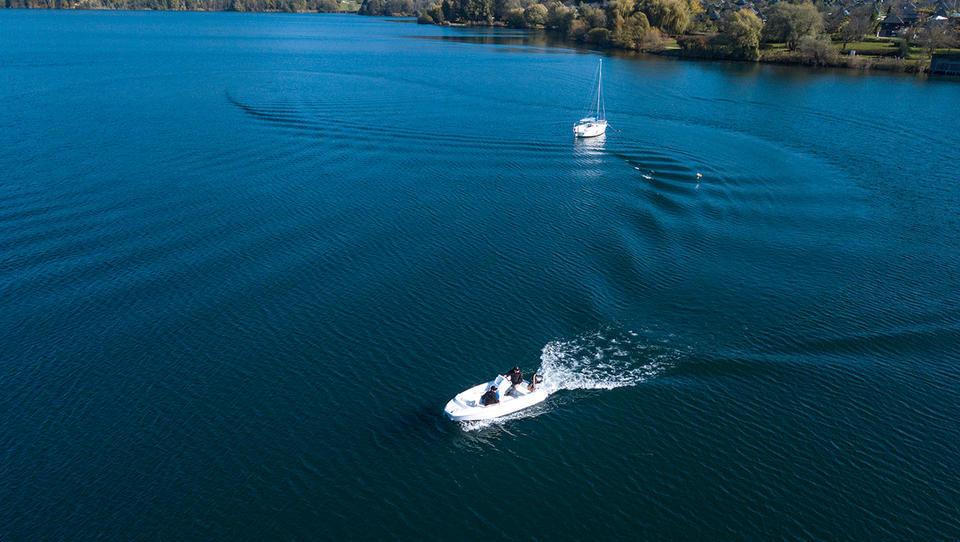 Im Unternehmen Podkrižnik wurde das elektrische Antriebssystem für Boote e'dyn entwickelt