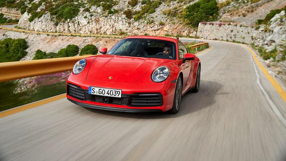 Za volanom porscheja 911 – športne klasike, ki me vedno znova sezuje