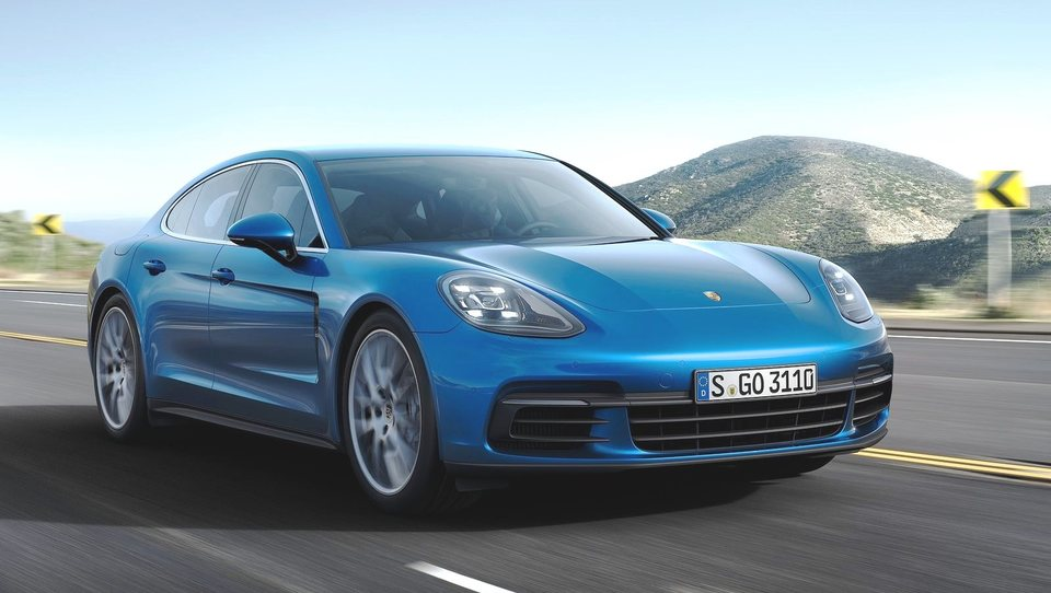 Porsche panamera - najhitrejša serijska limuzina na svetu