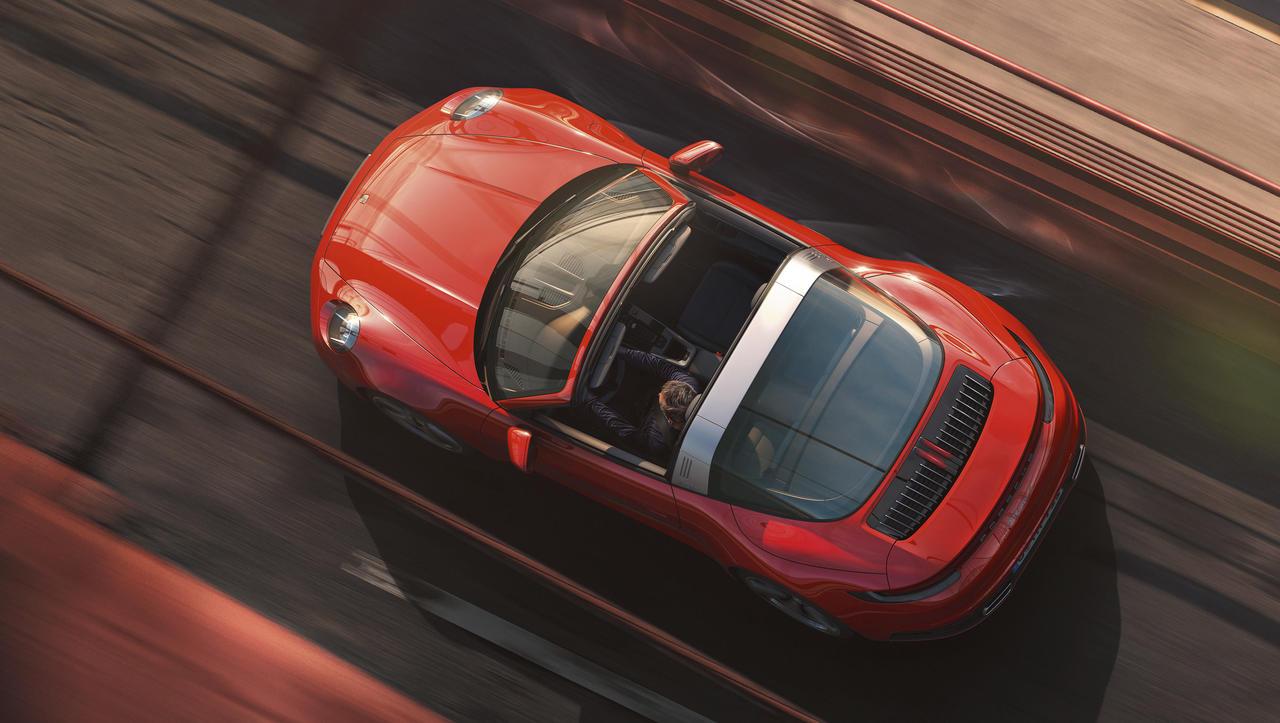 Porsche 911 targa: nastal je zaradi zahtevnih Američanov, danes je svetovna ikona